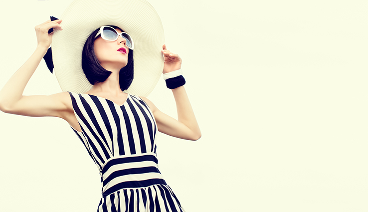 Stripes … always fashionable!