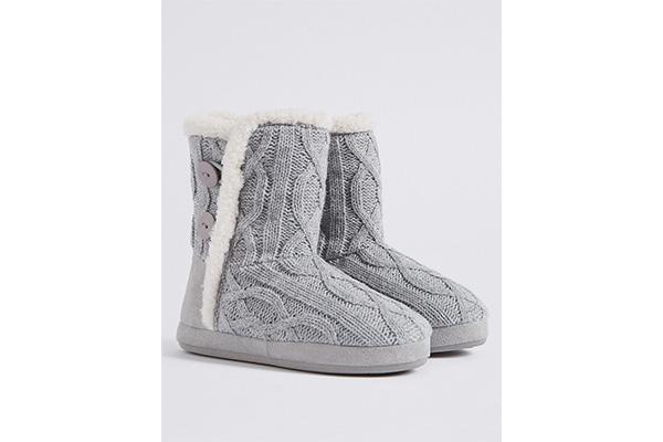 papuci ghetute Marks&Spencer