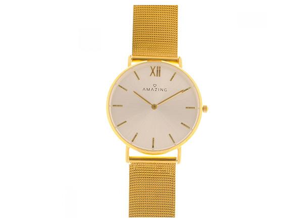 AMAZING Jewelry- Gold Classic Watch