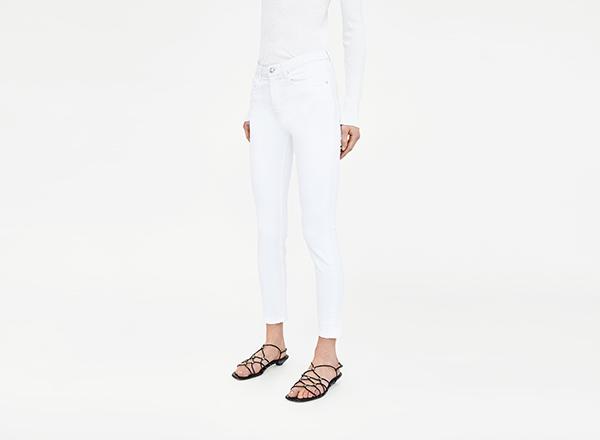 jeansi skinny Zara