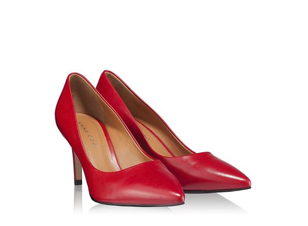 pantofi rosii Anna Cori