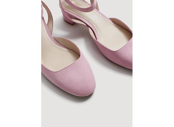 pantofi roz Mango