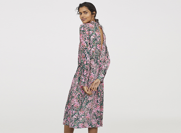rochie cu flori HM