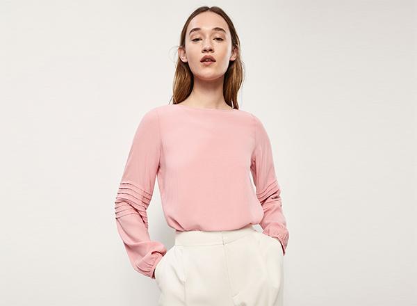 bluza roz Massimo