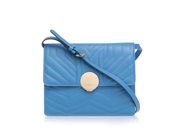 geanta bleu musette