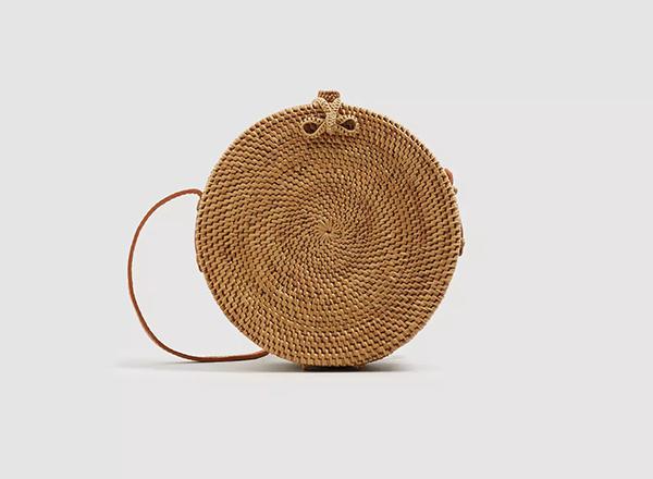 geanta din bambus Mango