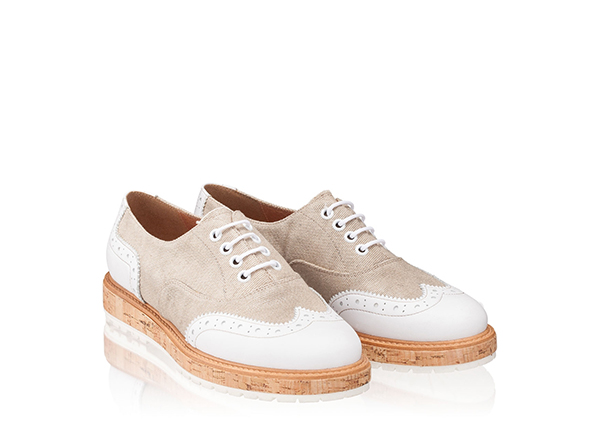 pantofi oxford Anna Cori