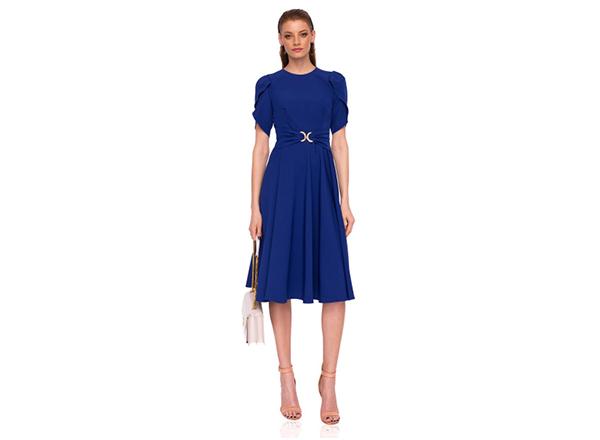 rochie albastra Nissa