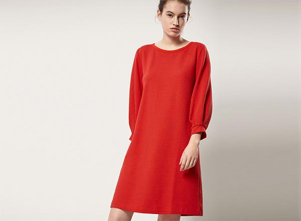 rochie rosie Masimo