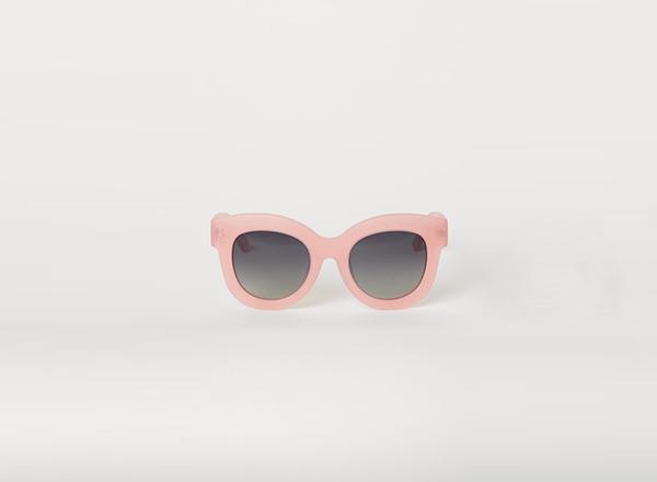 ochelari HM cu rama roz