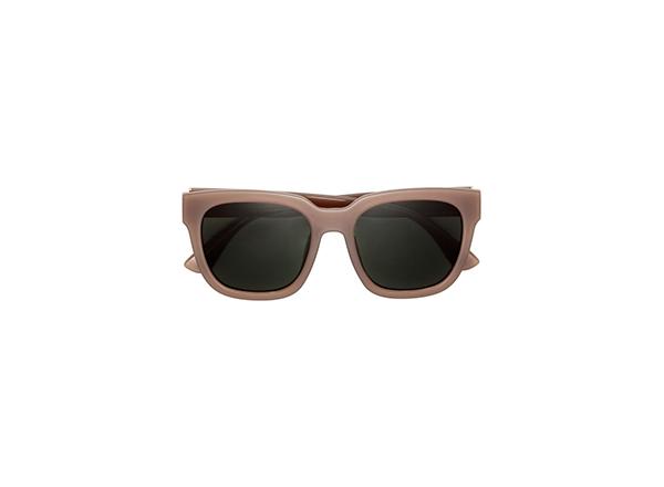 ochelari de soare cu rame groase taupe HM