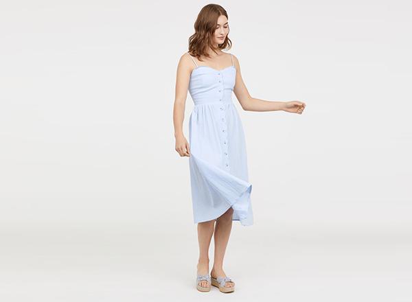 rochie bleu HM