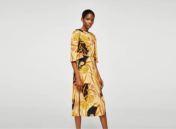 rochie floral 1 Mango