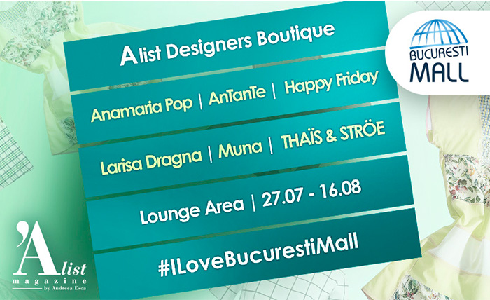 6 branduri 100% romanesti @Designers Boutique in Bucuresti Mall
