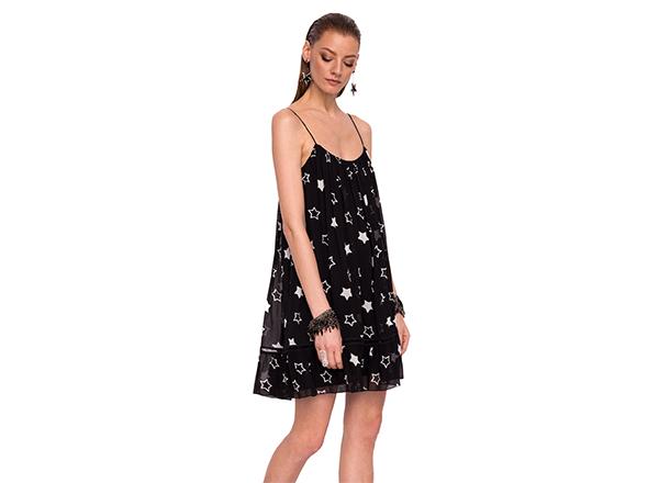 rochie cu print stele Nissa