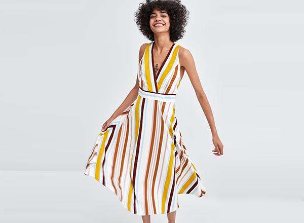 rochie de birou Zara