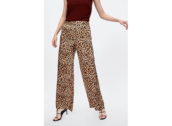 pantaloni largi Zara