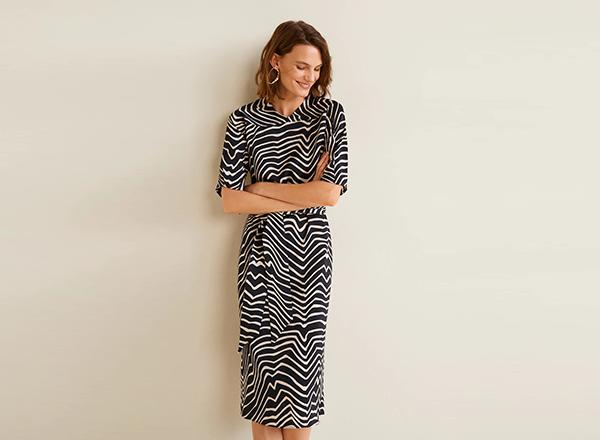 98531557cc rochie mango cu print zebra tinuta 1