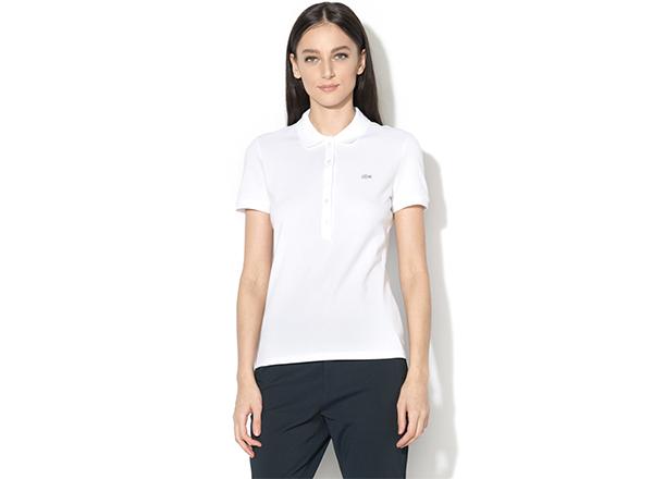1e1d3cd628 tricou alb polo Lacoste