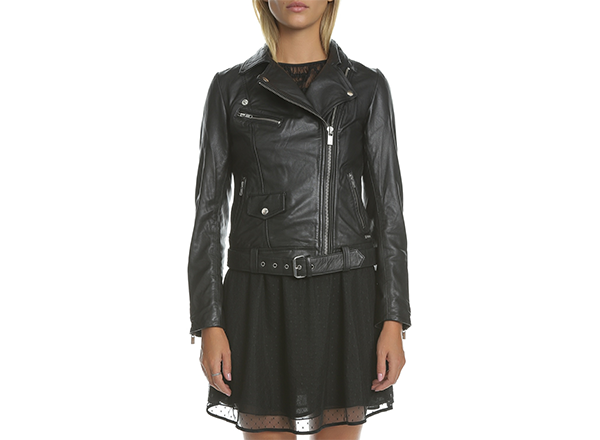 geaca biker clasica Scotch and Soda Collective