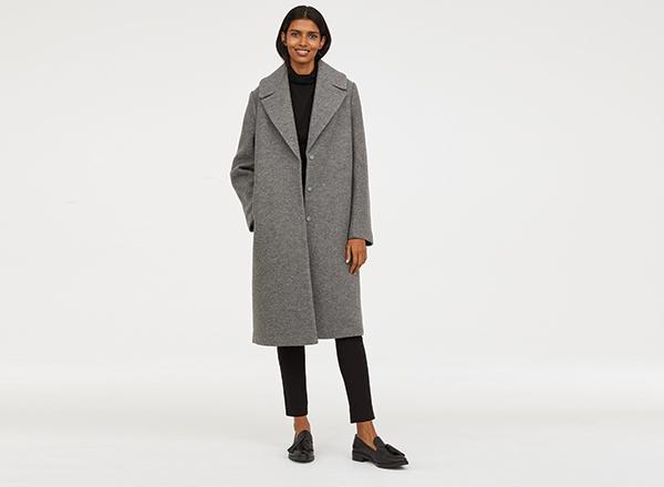palton lana HM