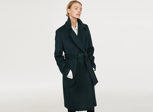 palton verde HM