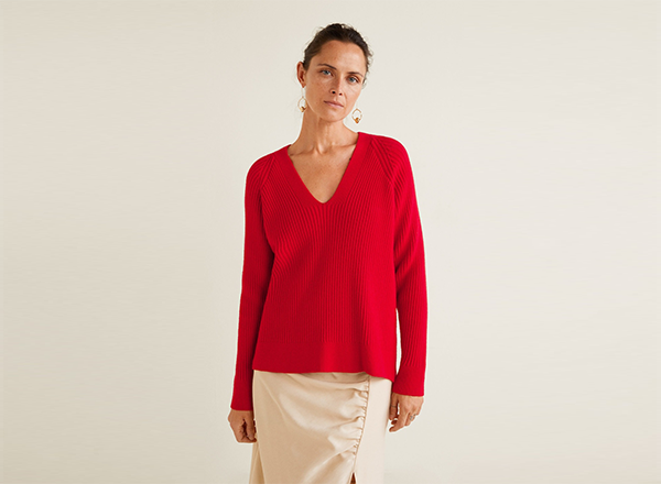 pulover reiat Mango