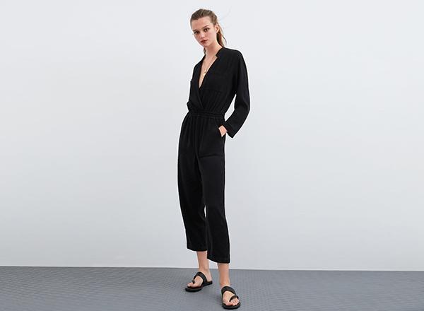 salopeta neagra Zara