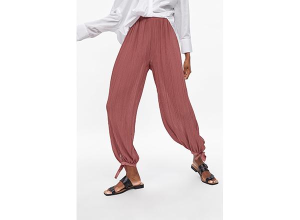 pantaloni salvari Zara