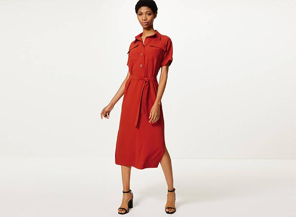 rochie camasa ruginie MS
