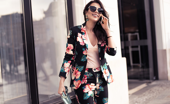 The summer trouser suit: reinterpreted and on trend