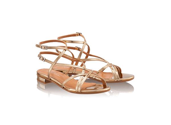 sandale aurii Anna Cori