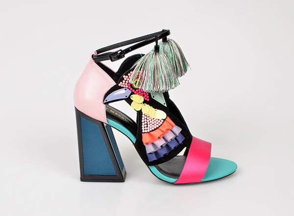 sandale multicolore Tezyo