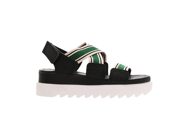 sandale sport cu barete verzi Il Passo