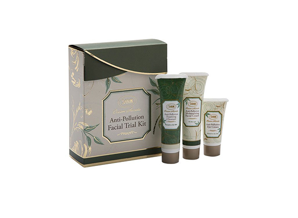 antipollution trial kit sabon