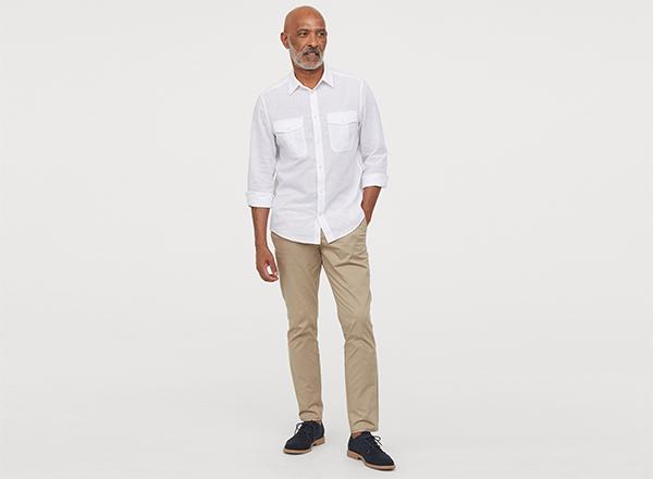 pantaloni chino H&M