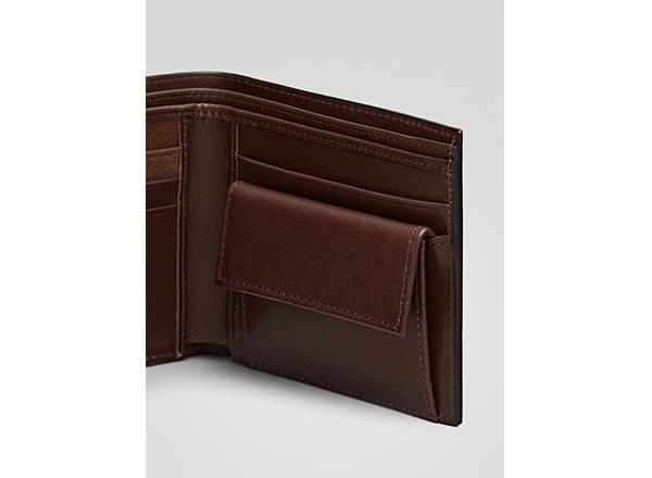portofel din piele Massimo Dutti