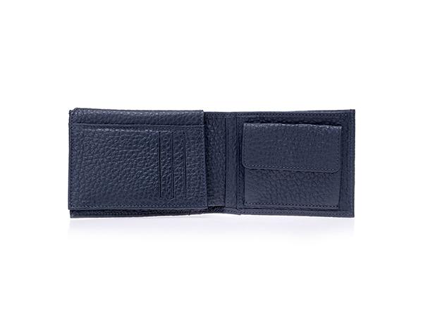 portofel piele bleumarin Musette