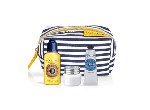 set trio Shea Butter Loccitane