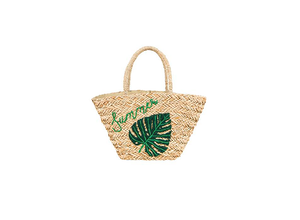 geanta rafie cu frunza palmier Penti