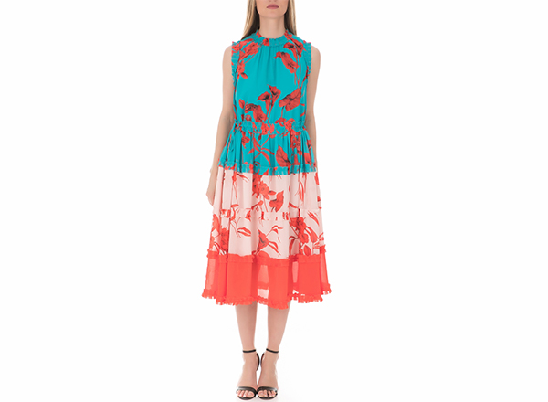 rochie cu print floral Ted Baker Collective