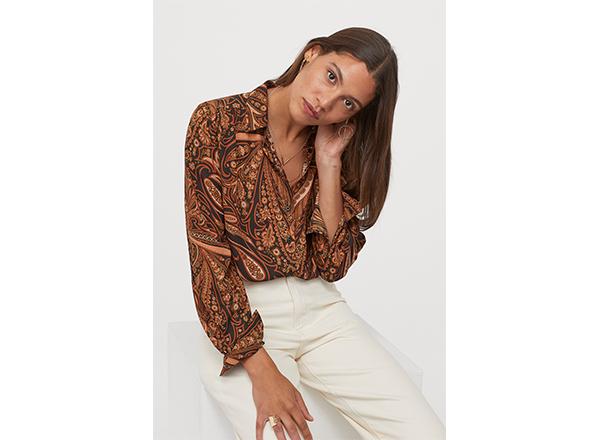 bluza paisley Richard Allan X H&M