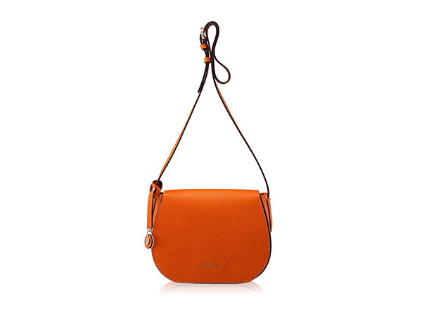 geanta de umar portocalie Anna Cori