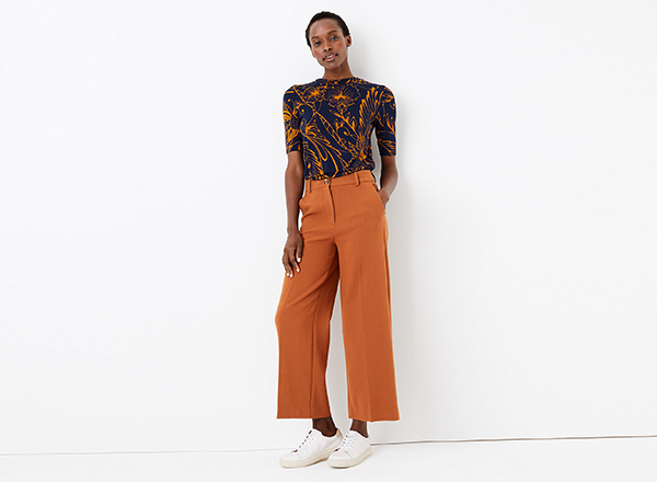 pantaloni cropped M&S