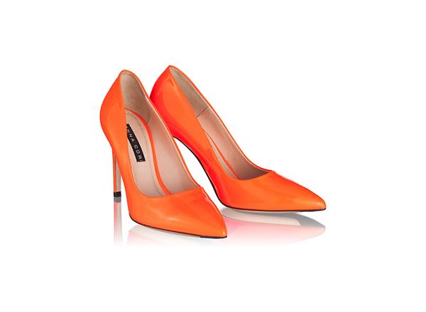 pantofi cu toc fin Anna Cori