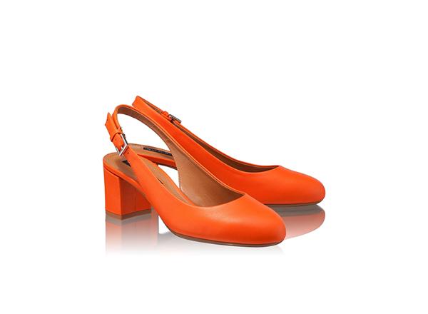 pantofi cu toc jos Anna Cori