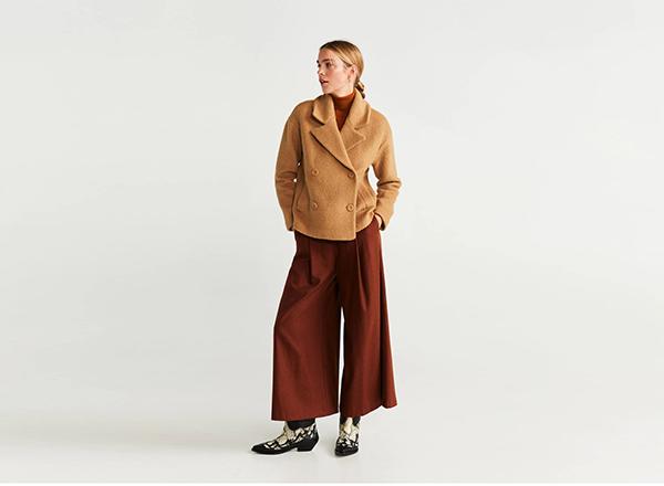 jacheta din lana Mango