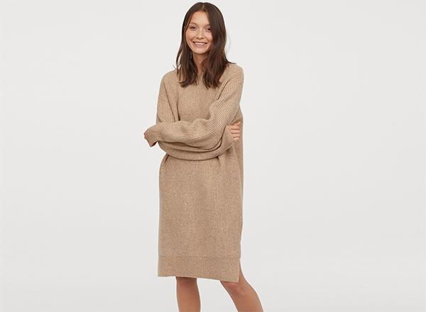 rochie tricotata H&M