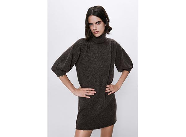 rochie maro mini Zara