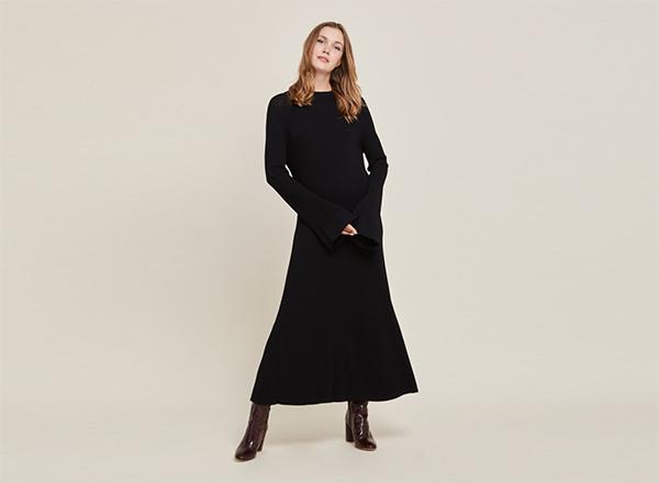 rochie tricotata maxi Stefanel
